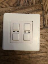 Lightwave RF LW420 WH Dimmer (2 gang) Lighting White USED