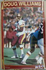 RARE DOUG WILLIAMS REDSKINS 1988 VINTAGE ORIGINAL NFL STARLINE POSTER