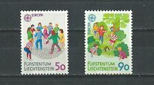 LIECHTENSTEIN 1989 CEPT, Europa, children games MNH