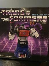 Transformers Diamond Sound Blaster Bust Soundwave Ratbat