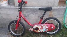 Bicicletta bimbi rossa btwin