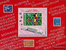yémen du nord (arabes rep.) Bloc 126 (complète edition) oblitéré 1970 upu upu