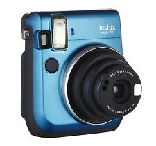 NEW Fujifilm Fuji INSTAX MINI 70 Instant Camera Island Blue +WARRANTY