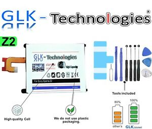 GLK Akku Battery für Sony Ericsson Xperia Z2 Z 2  LIS1543ERPC / Neuer Preis 2021