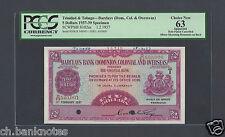 Trinidad and Tobago 5 Dollars 1-2-1937 P102as Specimen Choice Uncirculated