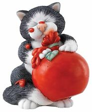 Linda Jane Smith Comic and Curious Cats Sauce Figurine Ornament 8cm A27685