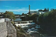 Grand River as it flows through Fergus, Ontario  -49