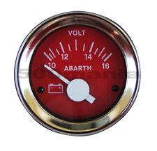 Strumento voltmetro rosso Ø 52 mm per Fiat 500 F/L/R e Fiat 126
