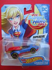 "HOT WHEELS CHARACTER CARS  DC SUPER HERO GIRLS ""SUPERGIRL"" BFF'S 1:64 SCALE"