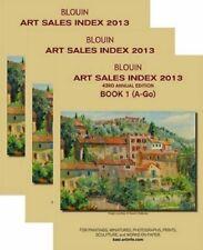 Blouin Art Sales Index 2013: For Paintings, Miniatures Photograph(3 Volumes set)