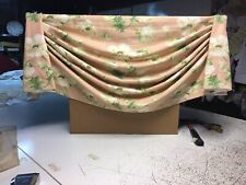 """Custom Made New Empire Swag Valance With Dressy Pleats / Fits Windows Up To 39"""""""