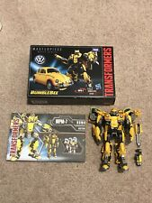 Masterpiece Transformers Movie MPM-7 Bumblebee Action Figure AUTHENTIC 2018