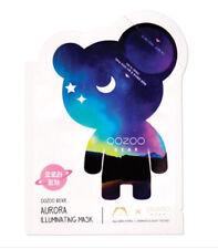 THE OOZOO BEAR AURORA ILLUMINATING MASK Glow & plump sheet mask Korean skincare