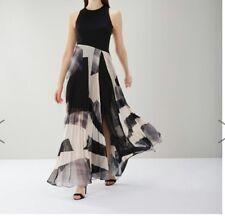 B 260# Costa Aria Geo impresión Maxi Vestido Talla UK 18 RRP £ 159