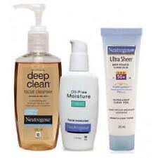 Neutrogena Oily Skin,Cleanser,Oil Free Moisturiser,Ultra Sheer Combo Pack