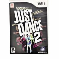 Just Dance 2 (Nintendo Wii, 2010), With Instruction Booklet