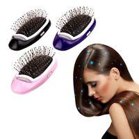 Brosse à cheveux ionique électrique Portable Ions négatifs peigne à cheveux