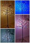 152cm / 6ft preiluminado cerezo en flor árbol de Navidad LED INTERIOR EXTERIOR