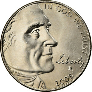 [#370112] Coin, United States, Half Dime, 2005, U.S. Mint, MS(65-70)