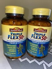Nature Made Triple Flex Triple Strength 50+ Supports Healthy Joints 120 Caps NEW