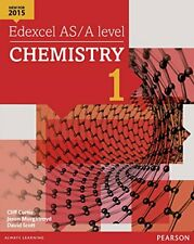 More details for edexcel as/a level chemistry student book 1 + activebook... by murgatroyd, jason