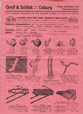 Consistente agarra & fangosos Gotha bicicletas accesorios de bicicleta para 1935! (D