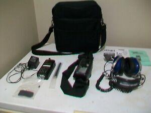 Uniden Bearcat SPORTCAT SC150B Race Scanner Pkg.-Strap/Carrying Case/Headset