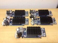 5 X Sapphire ATI Radeon HD4550 tarjeta de gráficos PCI-E 512MB DDR3 Hdmi Dvi Vga