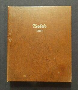 DANSCO Coin Album NICKELS  1883-  used