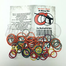 Macdev Droid Color Coded 3x Oring Rebuild Seal Kit **FREE SHIPPING**