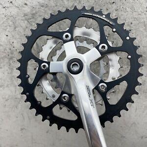Shimano Deore XT Crank Set FC-M737 175 mm 44 32 22 Chainring Vintage Triple MTB