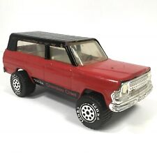 """Vintage Tonka Jeep Cherokee Chief Pressed Steel Toy 9.5"""" Made in Usa 1970s"""