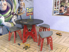 SPACE ROCKET Kids Boys Table & Chairs Plans Pattern CNC Laser ScrollSaw