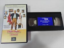 DULCE HOGAR ¡ A VECES ! STEVE MARTIN VHS CINTA TAPE COLECCIONISTA CASTELLANO