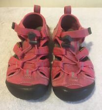 Keen H2 Newport Toddler Girls Pink Water Shoes Sandals Size US 11 UK 10