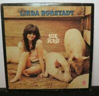 LINDA RONSTADT SILK PURSE (VG+) ST-407 LP VINYL RECORD