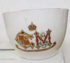 "KING GEORGE V, V.D.G. 1911 CORNATION SMALL CUP, 2 1/8"" TALL, NICE"