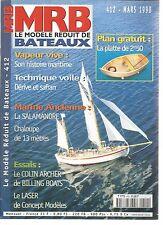 MODELE REDUIT DE BATEAU N°412 VAPEUR VIVE / DERIVE ET SAFRAN / LA SALAMANDRE