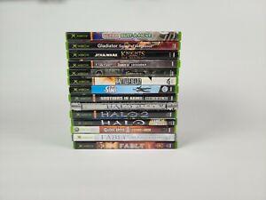 Lot of 15 original xbox games