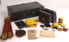 Outstanding Zeiss Ikon Miroflex Kit w/Graflex Tripod/Accessories/Travel Case