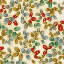 Kaufman Imperial Collection Metallic 12 15942 91 Crimson Leaves By The Yard