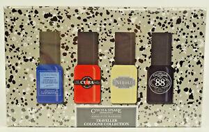 Czech & Speake  Traveller Collogne Collection 4 x 15ml Eau De Cologne Gift Set