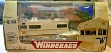 Greenlight 1973 Winnebago Chieftain Rv Boat & Trailer 1:64 Diecast Le 51082