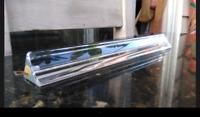 "Vintage Murano Venini Crystal Glass Prisms (Set of 10) Chandelier Prisms 11"""
