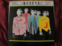 QUINCY SELF TITLED NEW WAVE ROCK VINYL LP 1980 COLUMBIA RECORDS STEREO EX