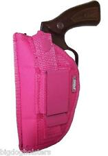 Pink Nylon OWB Gun Holster fits Charter Pink Lady Pro-Tech Outdoors Ambidextrous