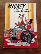 mickey sous les mers  (dépôt légal 1959) walt disney