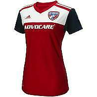 Adidas MLS FC Dallas Women's Home Jersey Red/White