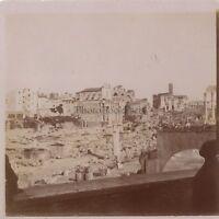 Viaggio IN Italia Roma Foto Amateur Vintage Citrato Ca 1900 #8