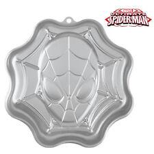 Wilton Spiderman Cake Tin, Fondant, Icing, Decorating, Kid Birthday Parties